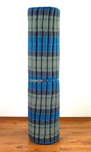 Kapok Rollmatte, Liegematte *hellblau* Gr. XL