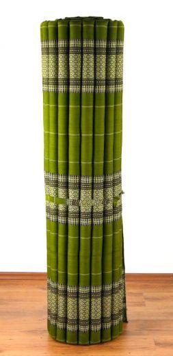 Kapok Rollmatte, Liegematte *grün* Gr. XL