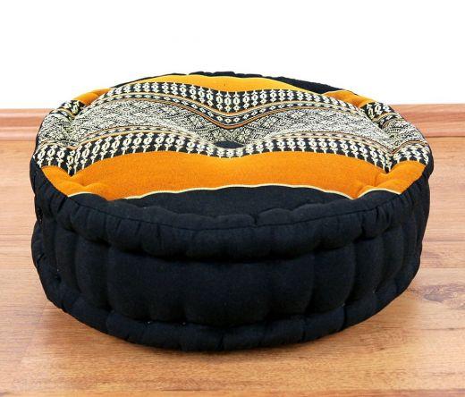 Kapok Zafukissen *schwarz - orange*