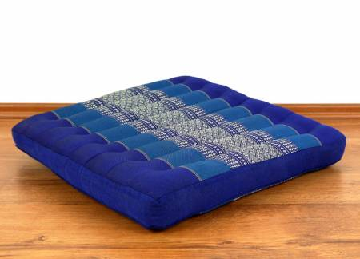 Sitzkissen, Bodenkissen *blau*