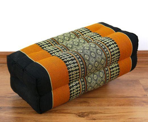 Stützkissen / Yogakissen *schwarz - orange*