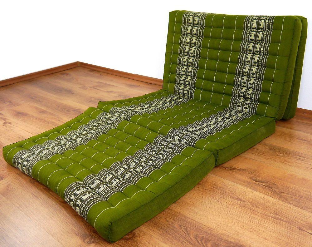 kapok klappmatratze g stematratze smaragtgr n elefanten. Black Bedroom Furniture Sets. Home Design Ideas