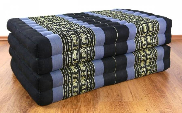 kapok klappmatratze g stematratze blau elefanten. Black Bedroom Furniture Sets. Home Design Ideas