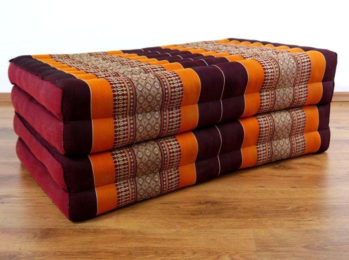 kapok klappmatratze g stematratze orange. Black Bedroom Furniture Sets. Home Design Ideas