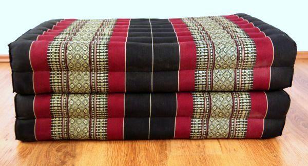 klappbbare kapok matratze auf. Black Bedroom Furniture Sets. Home Design Ideas