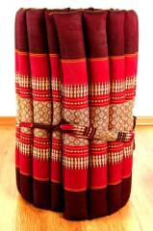 Kapok Rollmatte  *rubinrot*  Gr. S