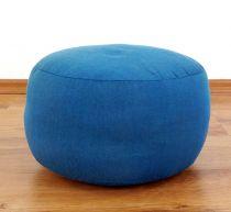 Einfarbiges Zafukissen, Sitzkissen  *hellblau*  klein