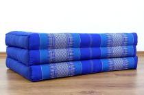 Kinder Kapokmatratze, Faltmatratze  blau