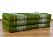 Kinder Kapokmatratze, Faltmatratze  grün