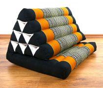 Thaikissen 1 Auflage *schwarz / orange*
