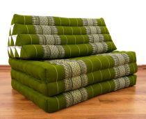Jumbo Thaikissen, extra breit  *smaragtgrün*