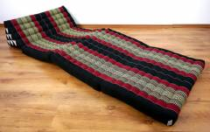 Jumbo Thaikissen, extra breit  *schwarz - rot*