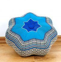 Kapok Zafukissen, kleiner Stern *blau*