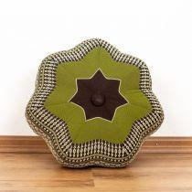 Kapok Zafukissen, kleiner Stern *braun - grün*