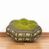 Kapok Zafukissen, kleiner Stern *grün - Elefanten*
