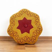 Kapok Zafukissen, kleiner Stern *rot / gelb*