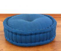 Einfarbiges Zafukissen, Sitzkissen  *hellblau*