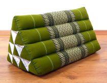Kapok Dreieckskissen, Rückenlehne  *smaragtgrün*