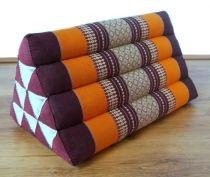 Kapok Dreieckskissen, Rückenlehne  *orange*