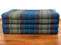Klappmatratze, Gästematratze, Faltmatratze *hellblau* 80cm breit