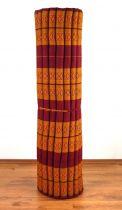 Kapok Rollmatte, Liegematte *indischrot* Gr. XL