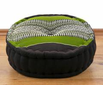 Kapok Zafukissen *braun - smaragtgrün *