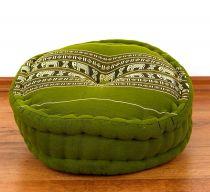 Kapok Zafukissen *smaragtgrün - Elefanten*