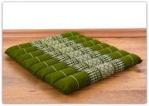 Steppkissen, Boden- bzw. Stuhlkissen *smaragtgrün*