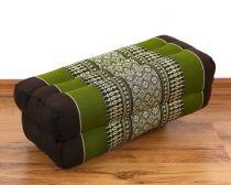 Stützkissen / Yogakissen *braun - grün*