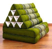 Thaikissen 2 Auflagen  *smaragtgrün*