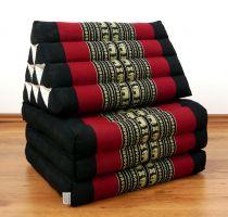 Thaikissen  *schwarz/Elefanten*