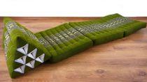 Thaikissen  *smaragtgrün/Elefanten*
