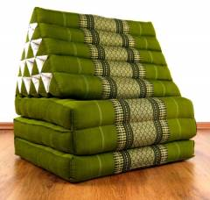 Thaikissen, XXL Dreieck  *smaragtgrün*